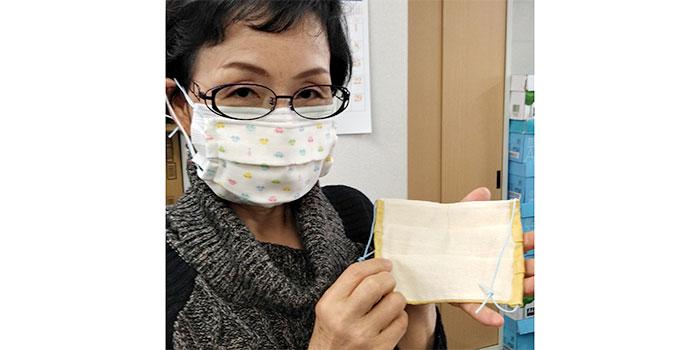 TAKEFUで手作りマスク!