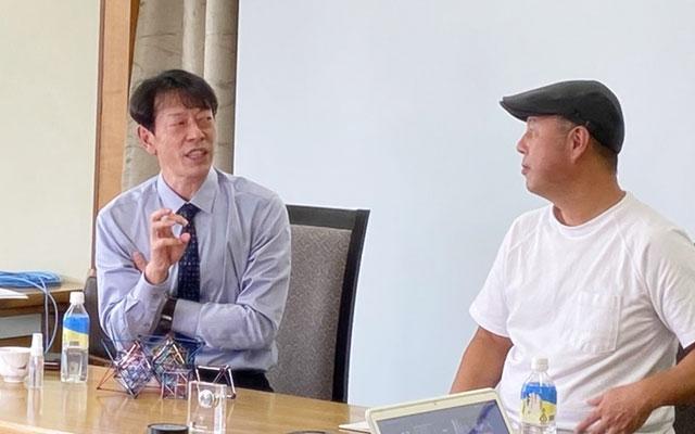 サトケンとゆの里 重岡社長とのコラボ講演会
